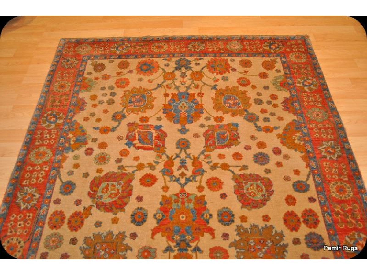 Fine Quality Vegetable Dyed Rug 5 X 7 Mahal Sultanabad