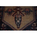 4' X 6' Handmade Antique Hamadan Rug