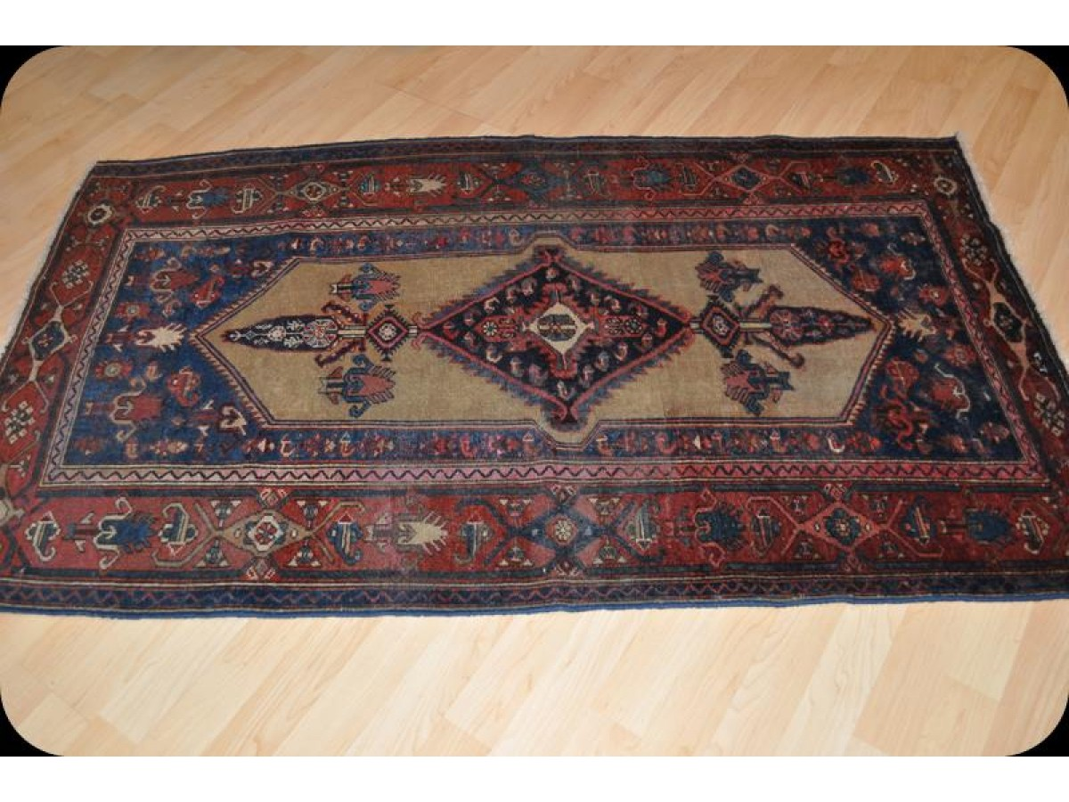 On Sale Only 898 Vintage Small Persian Hamadan Rug