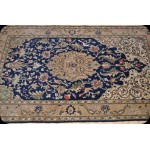 Silk & Wool Authentic Persian Tabriz 5' X 8' Pictorial Rug