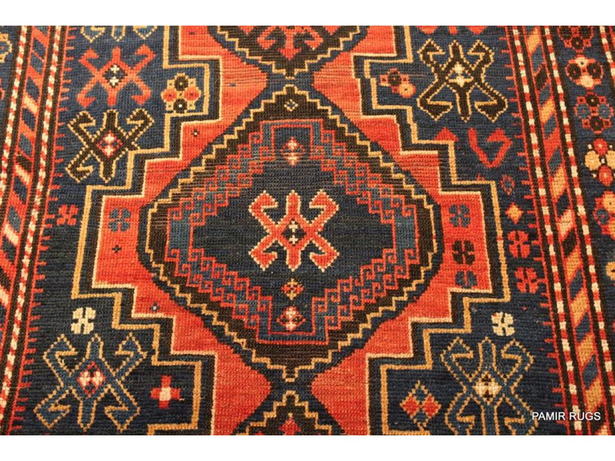 Handmade Caucasian Rug From Caucuses Area Original