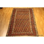 Circa 19th Century Tribal Persian Rug, Butteh Northwest Persia.