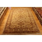5 X 7 Ft. Persian Rug, Vegetable Dyed Beige Background Chobi