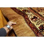 5' X 7' Persian Rug, Handmade Tribal Serab Heriz and Kurdish Rugs