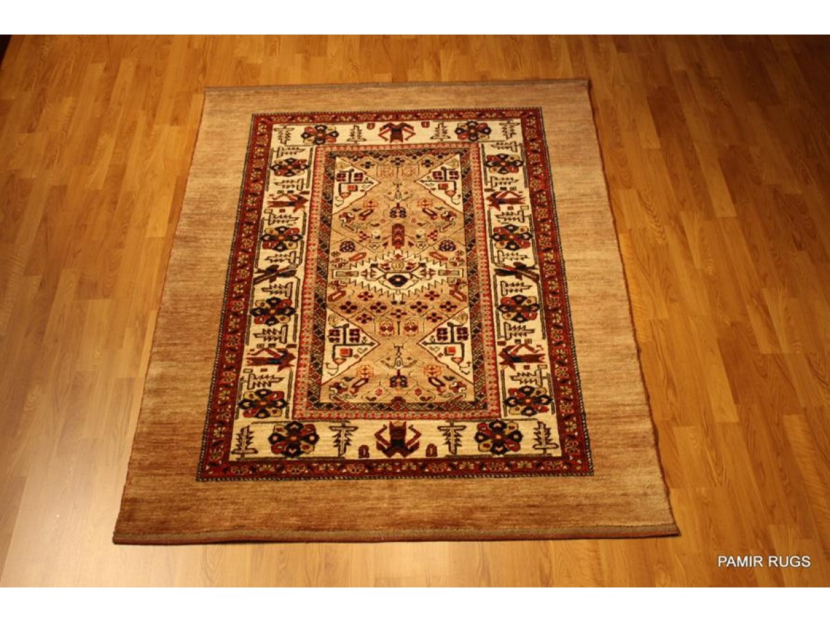 Elegant New Persian Tribal Rug Serab Design Made Out Of