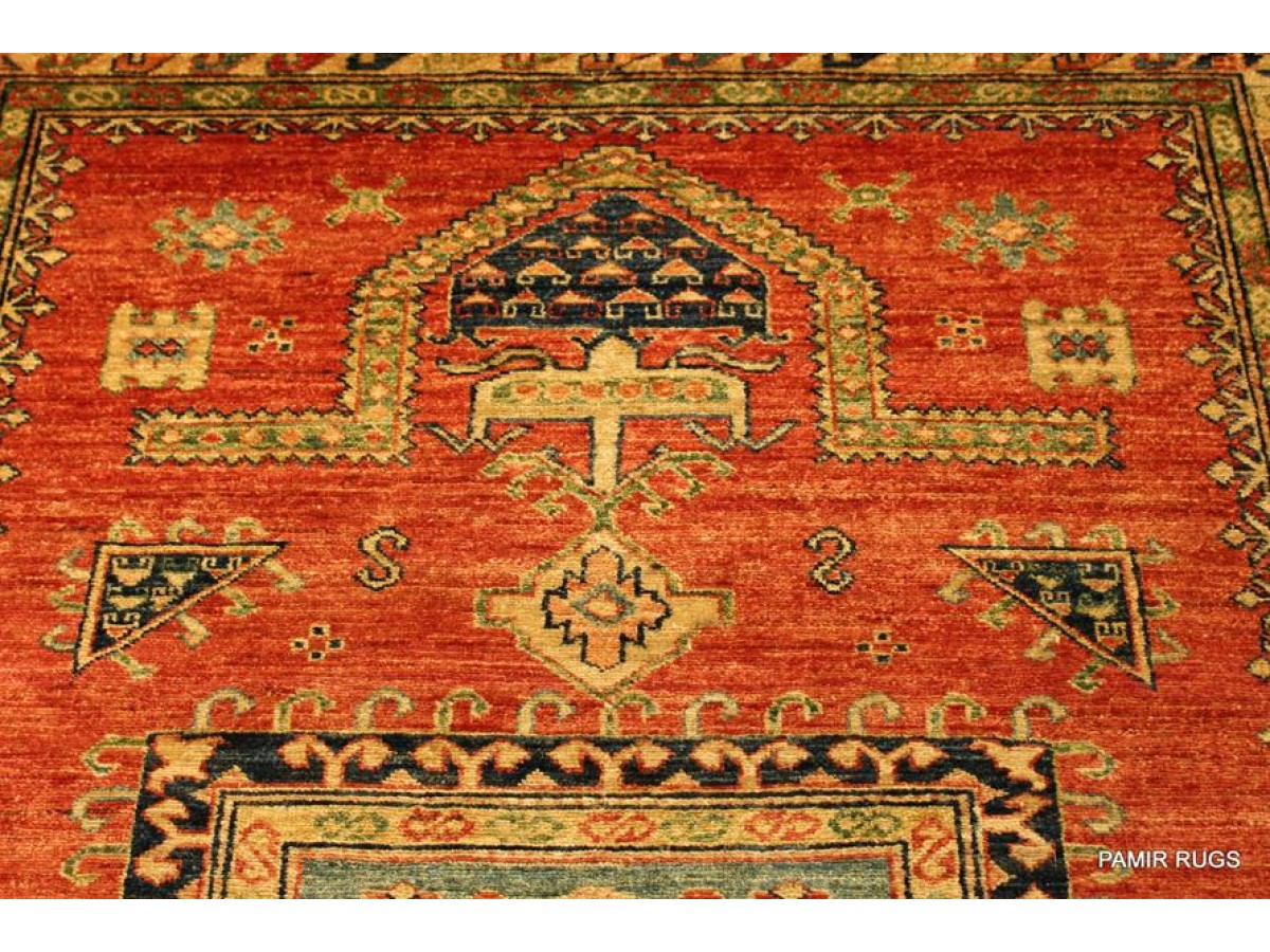 Top Quality Handmade Caucasian Kazak Rug Made In