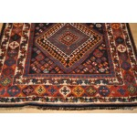 Tribal Kurdish Rug, Authentic Circa 19th Century, Persian Lori