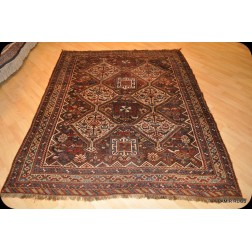 5' X 7' Antique Persian Qashqai