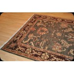 Dark Green 6' X 9' Fine Quality Handmade Persian Rug