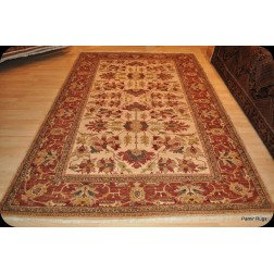 Fine Qualiy Handmade Vegetable Dyed Chobi Rug