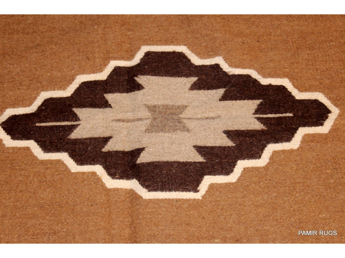 Indian Navajo Design Blanket Handmade Wool Rug