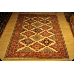 Super Kazak6'x8' Afghan Caucasian Kazak Design Chobi Rug On Sale
