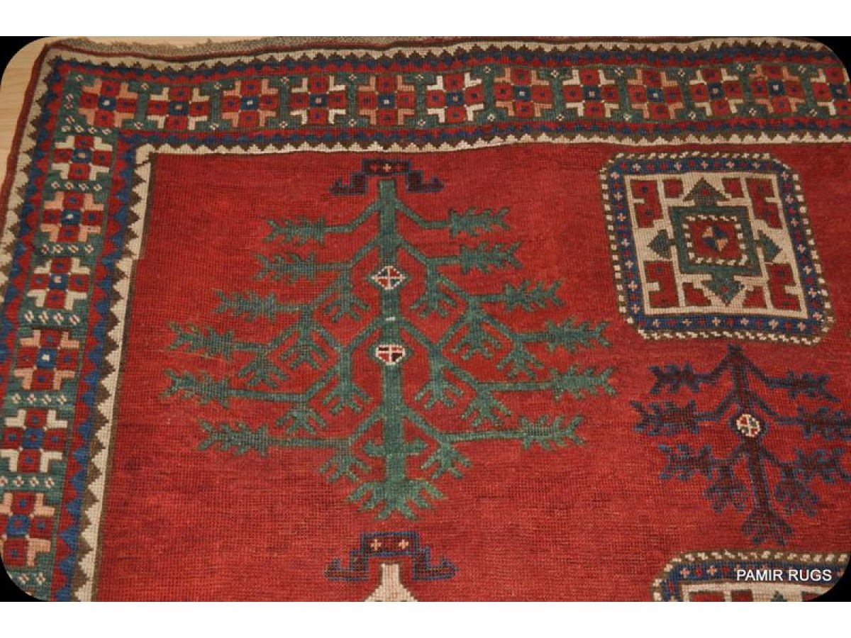 Museum Piece Antique Caucasian Tree Kazak Early 19th