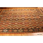 South Western Style Hand Woven Diamond Design Rug