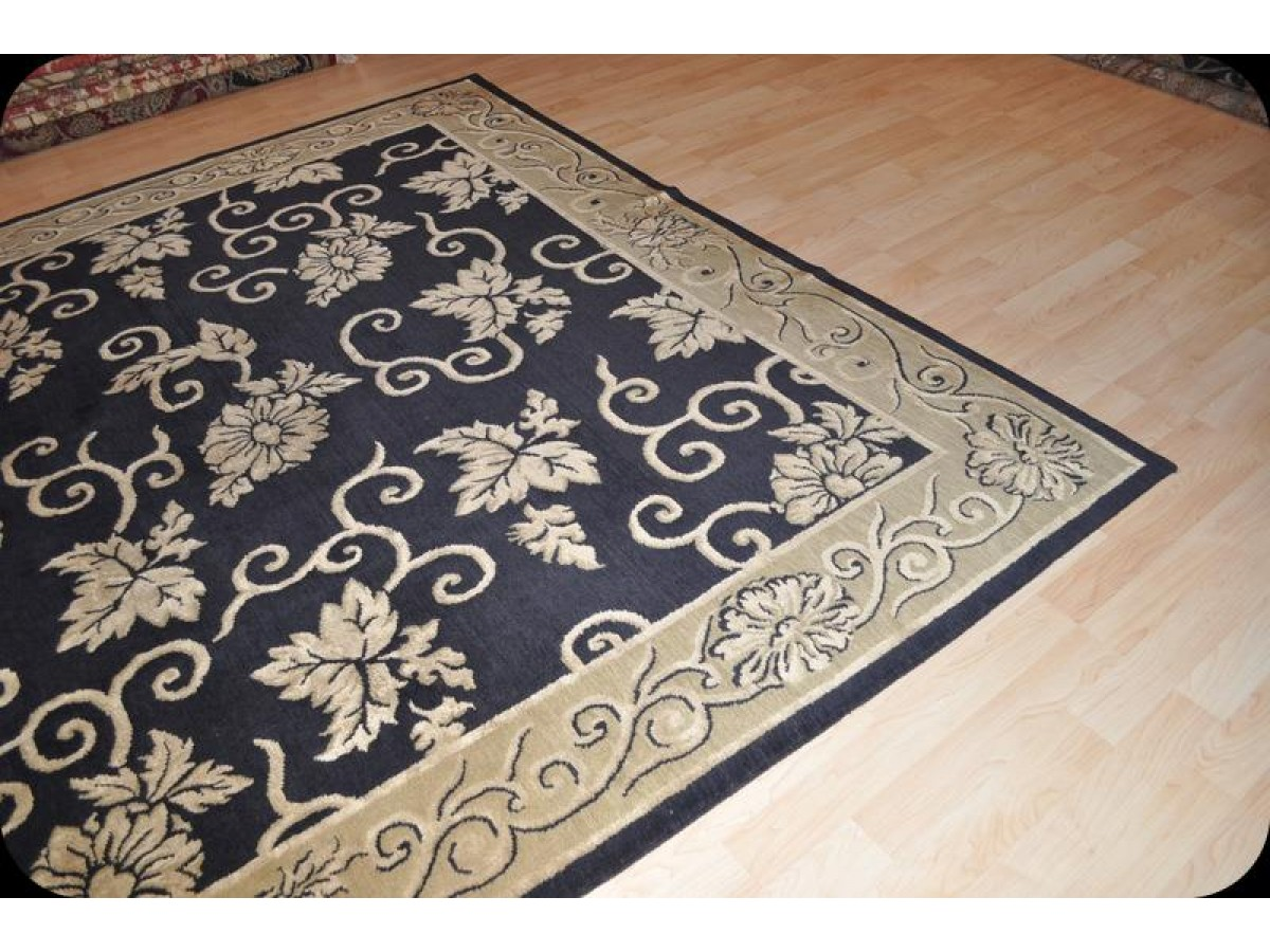 8 X 10 Handmade Fine Quality Tibetan Rug Made Of 100