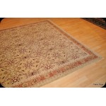 8' X 11' Fine Khaki Yellow  Background color Rug
