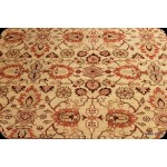 Elegant Persian Rug 8' X 11' Lion Yellow Background Rug