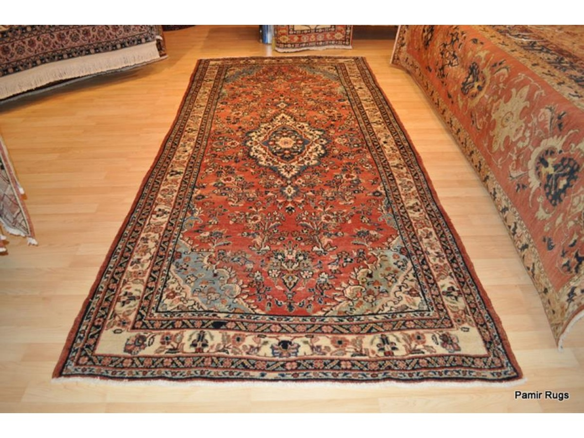 Authentic Persian Bakhtyari 5 X 11 Wide Hall Runner