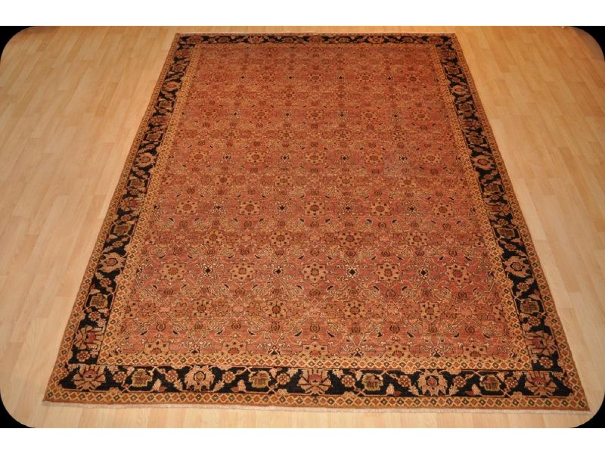 8 X 10 Fine Quality Handmade Brown Rug Copper Color