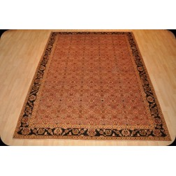 8' X 10' Fine Quality Handmade Brown & Copper Color Rug
