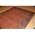 Wide Hall Runner Antique Persian Malayer Rug