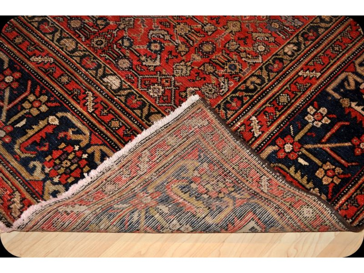 wide hall runner antique persian malayer rug 7 39 x 14 39 authentic handmade circa 1920 39 s on sale. Black Bedroom Furniture Sets. Home Design Ideas