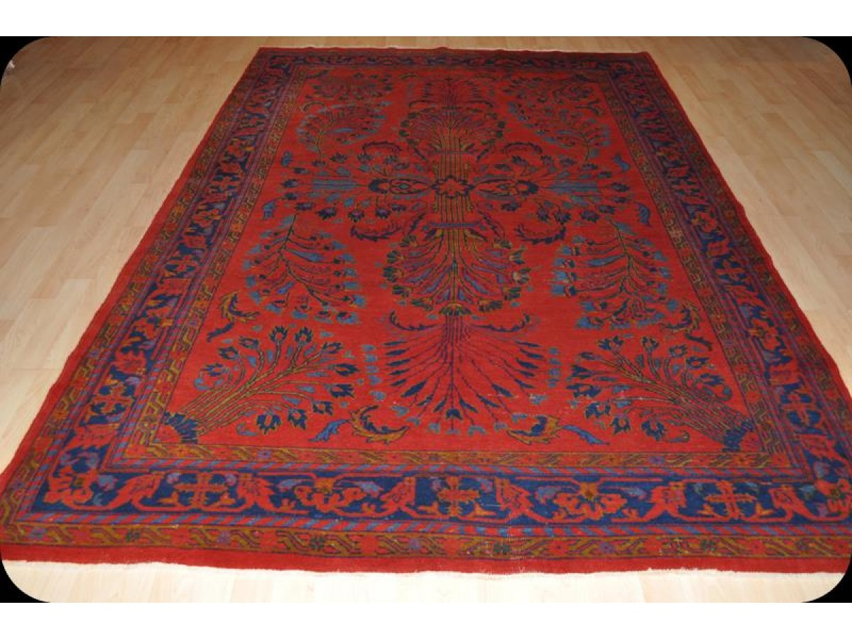 Room Size Handmade Persian Sarouk Perfect For Your Dining