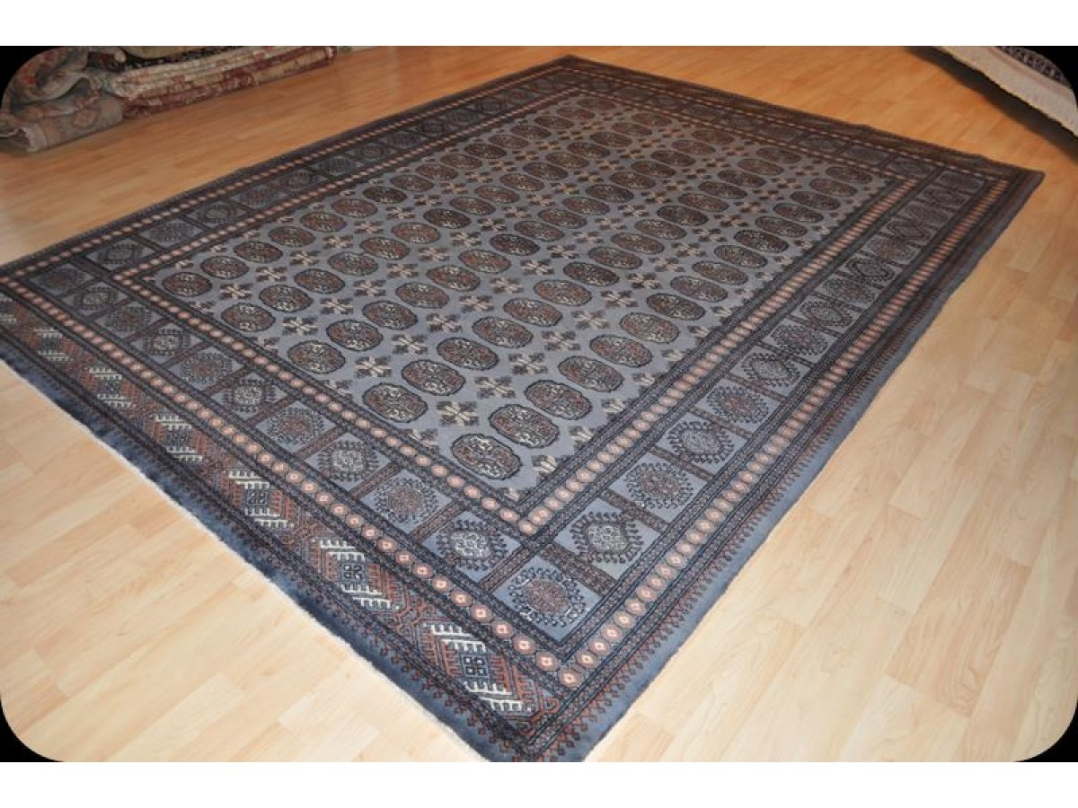 Pak Bukhara 8 X 10 Handmade Thick Wool Pile Very Durable