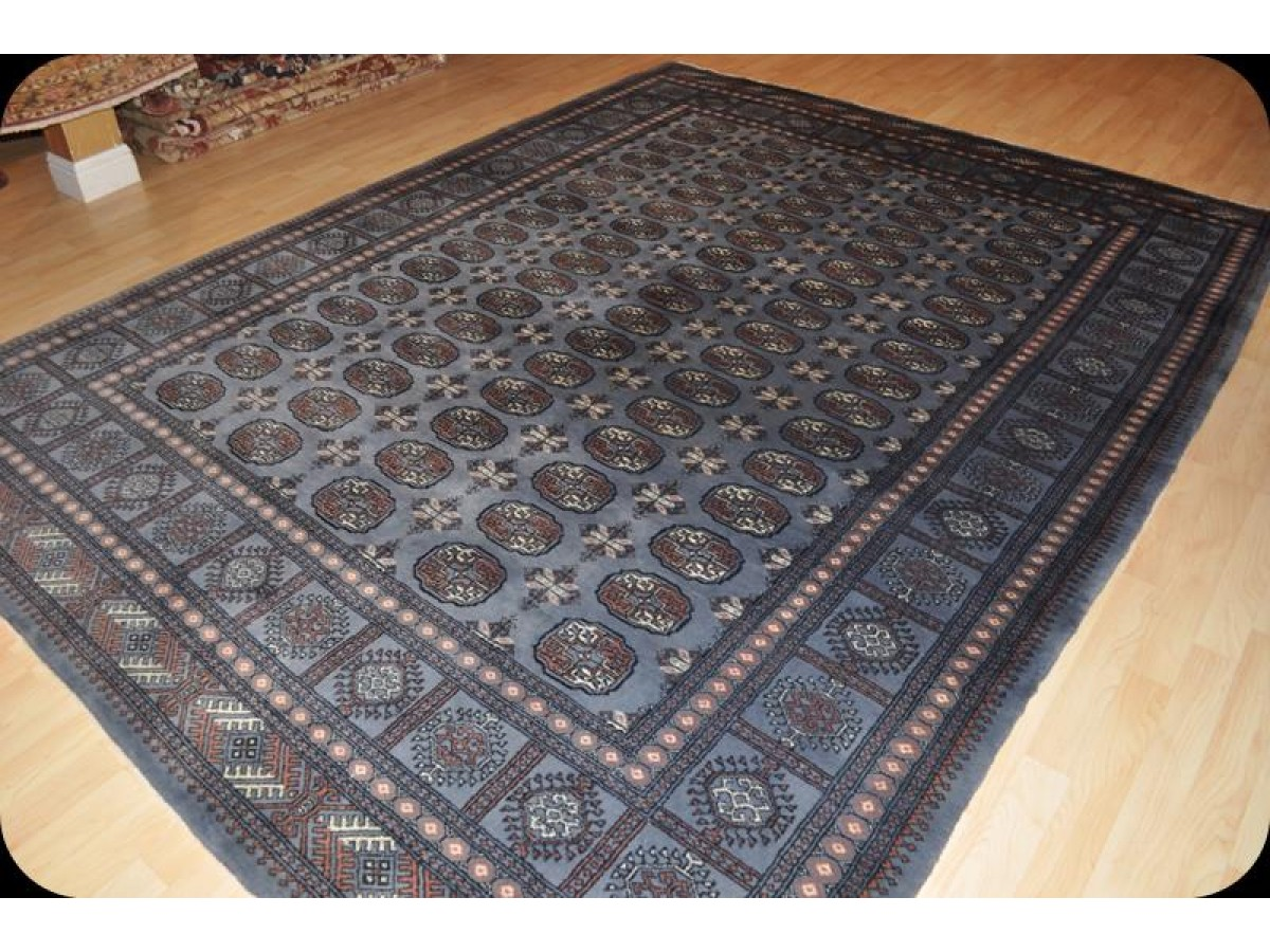 Pak bukhara 8 39 x 10 39 handmade thick wool pile very durable for Thick area rugs sale