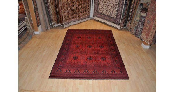 Handmade Afghan Turkmen Khal Mohamadi Rug On Sale At