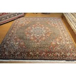 8' X 8' Square Rug Fine Quality Authentic Persian Bijar Rug