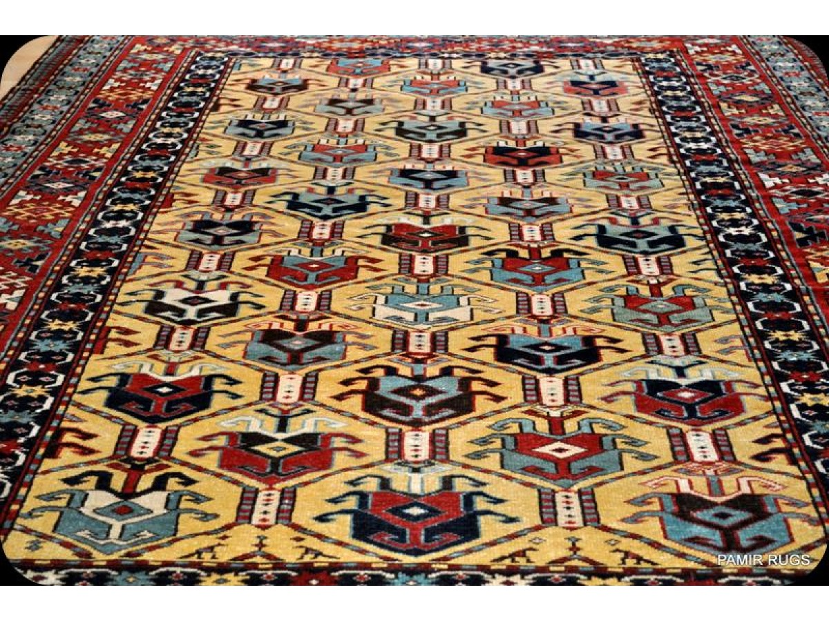 New Caucasian Shirvan Rug Finely Woven Hanmdade Matches