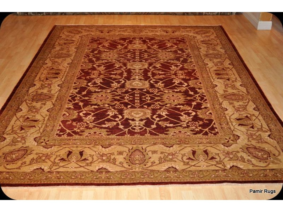 Tuscan Red 9 X 12 Fine Quality Handmade Persian Rug With