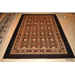 Dark Brown Rug Elegant Authentic one of a Kind Designer Collection.