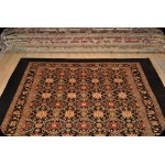 Decorate 9' X 12' Chocolate Brown Color Vegetable dyes Chobi Rug