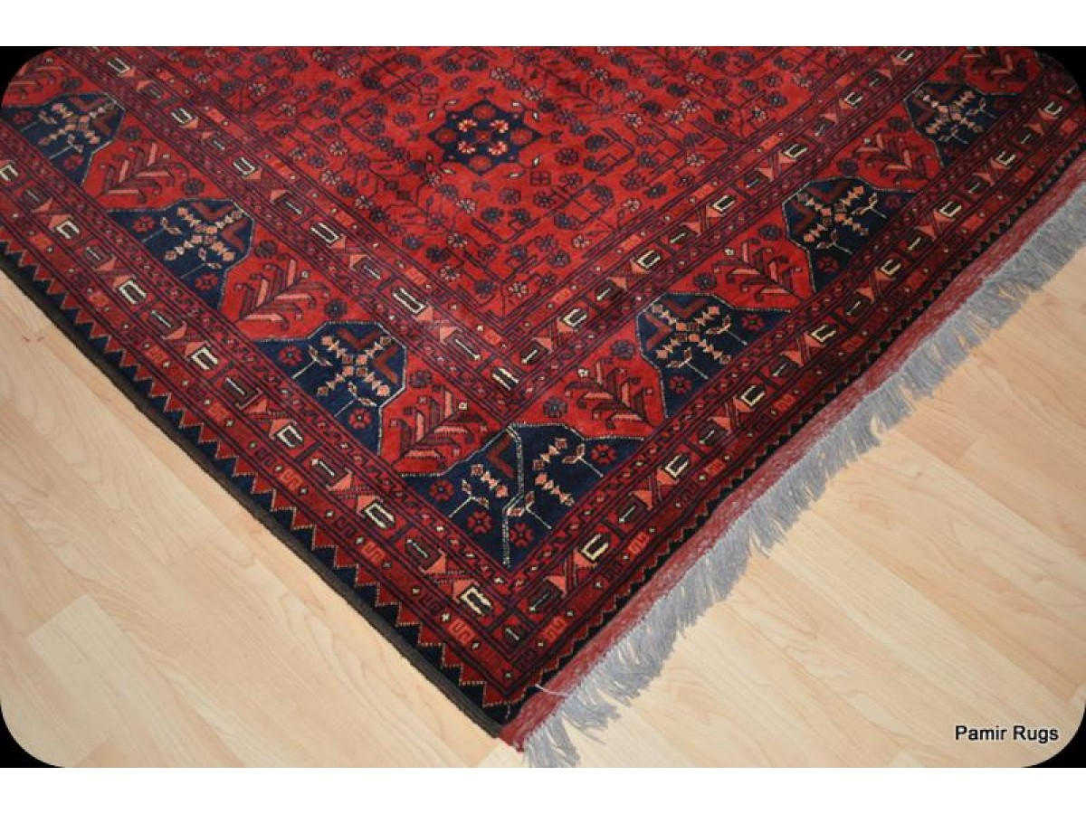 large new turkmen khal mohammadi wool rug from afghanistan. Black Bedroom Furniture Sets. Home Design Ideas