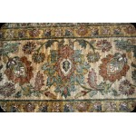 9' X 12' Intricate Persian Design Rug Light Green Floral