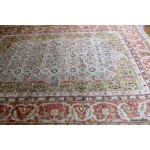 Handmade Persian Design Soft wool Rug 9' X 12' Light green