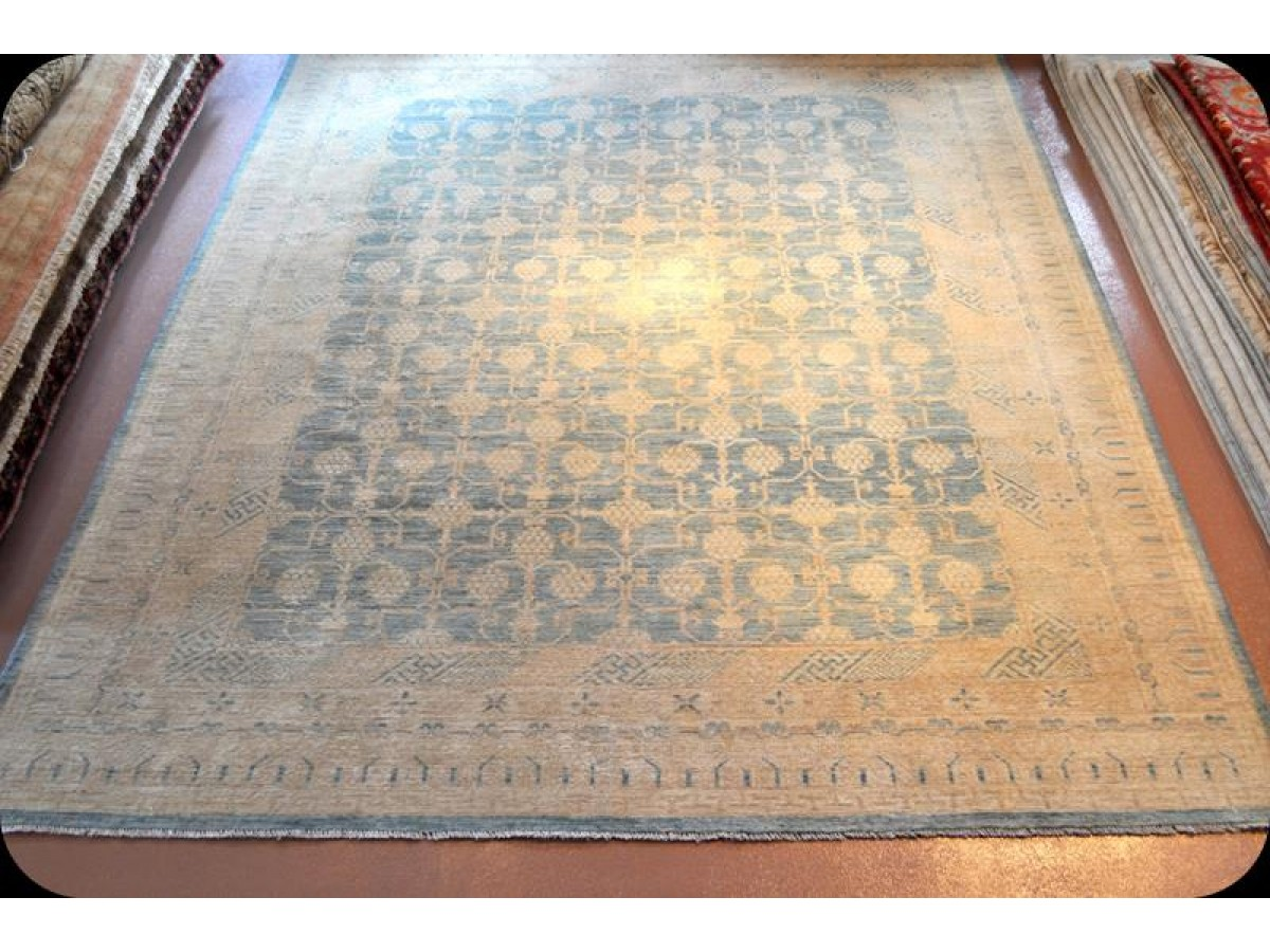 9u0027 x 12u0027 powder blue rug one of kind light blue room size rug