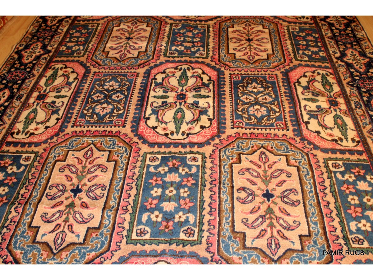 Genuine Persian Rug 9 X 12 Antique Persian Sarouk Mir