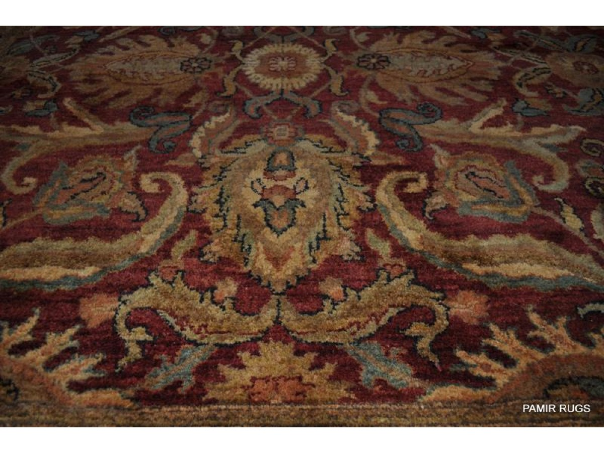 Elegant Persian Oriental Rug 9 X12 Handmade Knotted Fine
