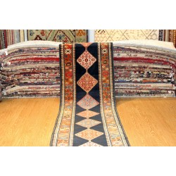 15' Long Caucasian ANTIQUE Shirvan Design Qarabagh Handmade Kazak Design Karabakh