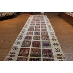 10 Ft. Hall Runner Handmade Persian Garden Design